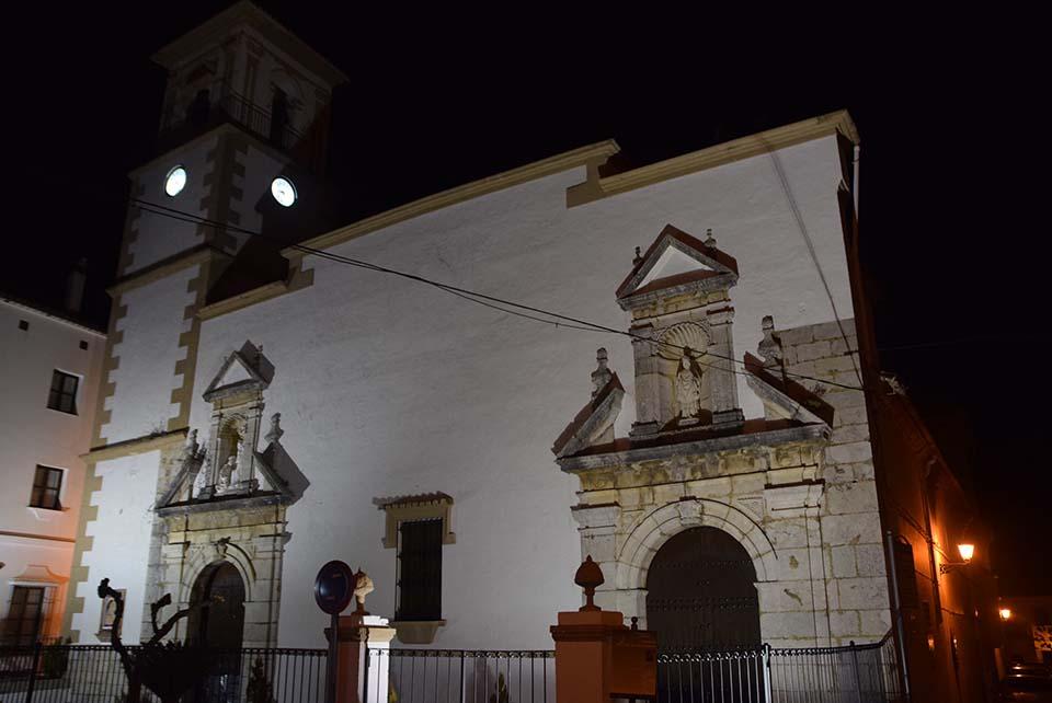 El encanto nocturno de Grazalema